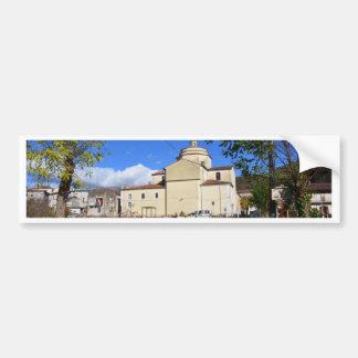 Church In Laino Borgo Car Bumper Sticker