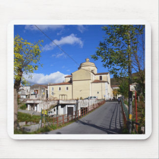 Church In Laino Borgo Mouse Pads