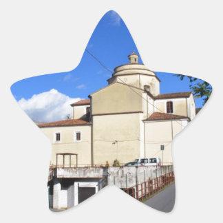 Church In Laino Borgo Star Sticker