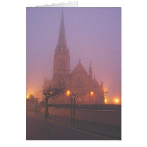 Church in Mist Card