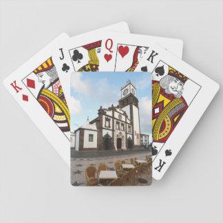 Church in Ponta Delgada Playing Cards
