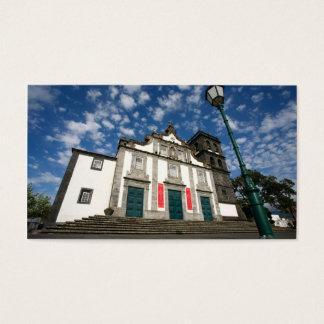 Church in Ribeira Grande Business Card