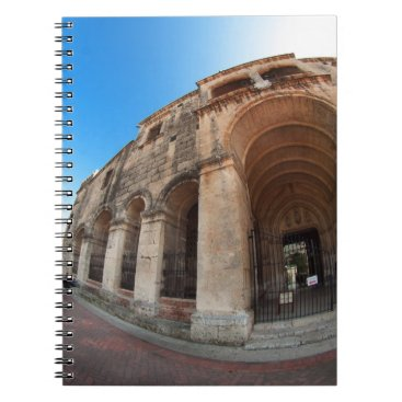 anakondasp church in Santo Domingo. Domenican Spiral Notebook