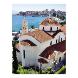 Church In Sarande In Albania. Postcard