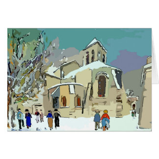 Church In Snow, Holiday cards