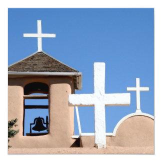Church in Taos, New Mexico Invitation