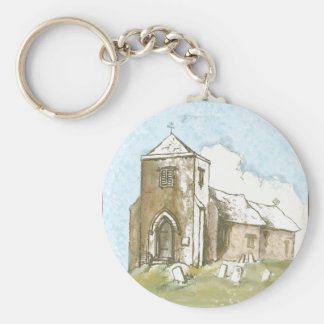 Church in the Country Keychain