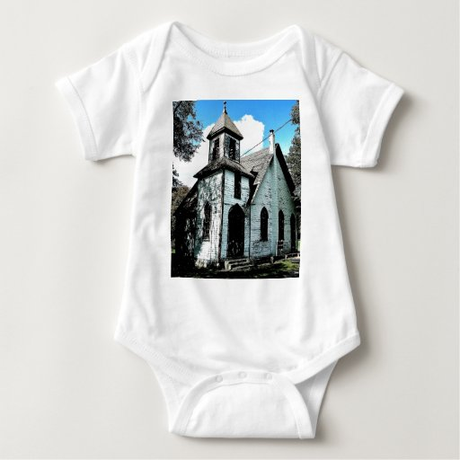 Church in the Forest Baby Bodysuit