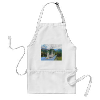 Church In The Mountains Adult Apron