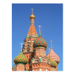 Church in the Red Square Post Card