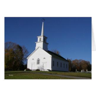 Church In Vermont Card