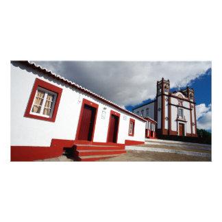 Church in Vila do Porto Card