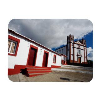 Church in Vila do Porto Rectangular Photo Magnet
