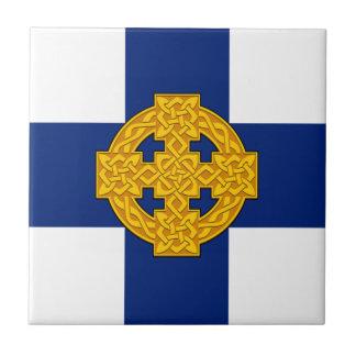 Church_in_Wales_flag Azulejo Cuadrado Pequeño