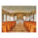 "Church - Inside a church 8.5"" X 11"" Flyer"