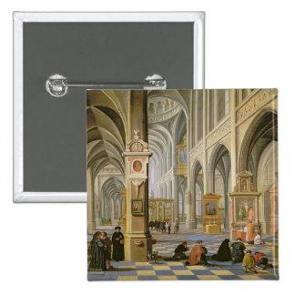 Church interior button