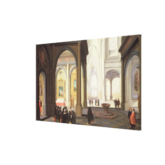Church Interior Canvas Print