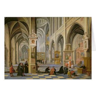 Church interior card