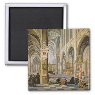 Church interior magnet