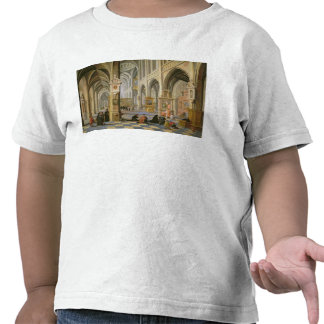 Church interior t shirts