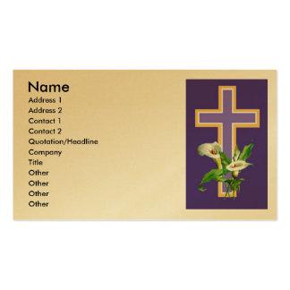Church Invitation Business Card Templates