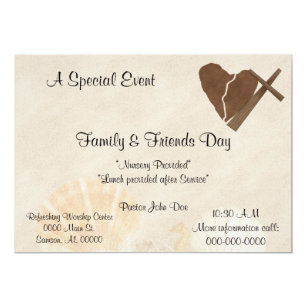 Church gathering invitations zazzle church invitation gathering special event stopboris