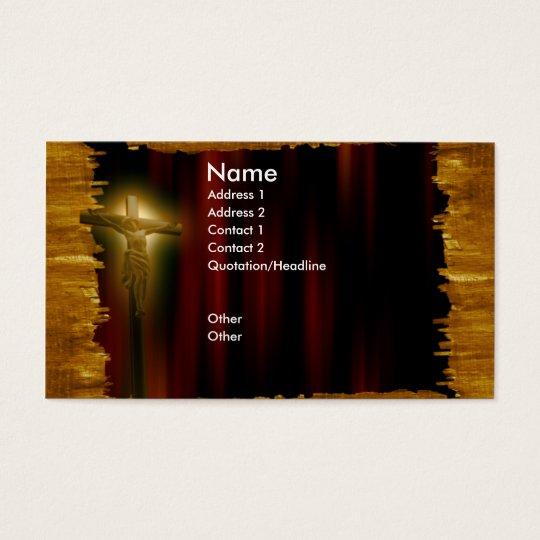 church_jesus_business tarjeta de negocios