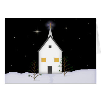 Church Low Vision Remembrance Christmas Card