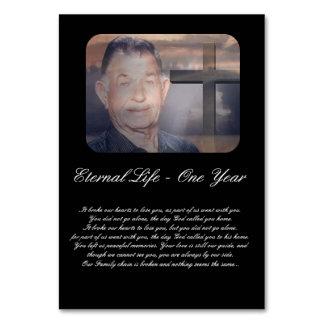 Church Memorial Anniversary Order of Service Card