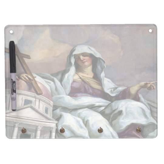 church mother dry erase board with keychain holder