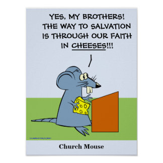 Church Mouse Poster