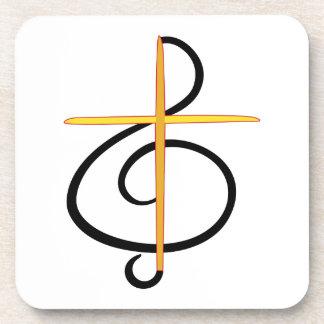 Church Musician Drink Coasters