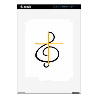 Church Musician iPad 3 Decals