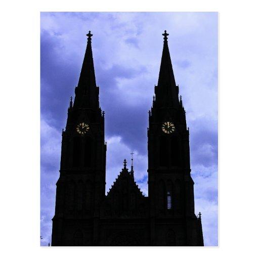 Church, New Town ,Prague(2) Postcard