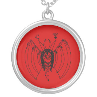 Church of Ahriman Amulet Round Pendant Necklace