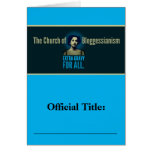 Church of Bloggessianism Cards
