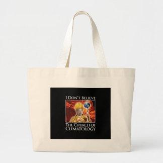church_of_climatology_blk_btn tote bag