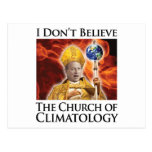 church_of_climatology post cards