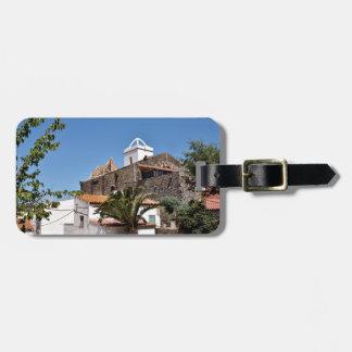 Church of El Port de la Selva in Spain Tags For Luggage