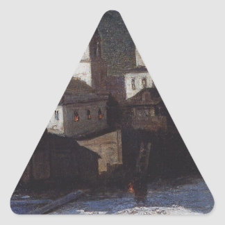 Church of Elijah the ordinary in Moscow by Aleksey Triangle Sticker