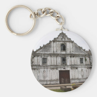 Church of Guiuan Basic Round Button Keychain
