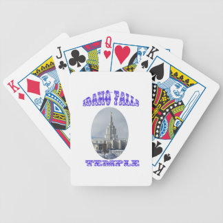 Church of Jesus Christ of Latter Day Saints Temple Bicycle Playing Cards