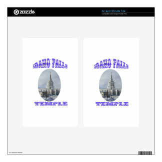 Church of Jesus Christ of Latter Day Saints Temple Decals For Kindle Fire