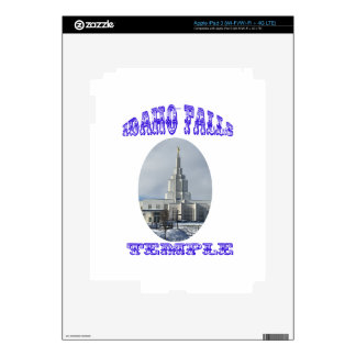 Church of Jesus Christ of Latter Day Saints Temple iPad 3 Decal