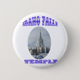 Church of Jesus Christ of Latter Day Saints Temple Pinback Button