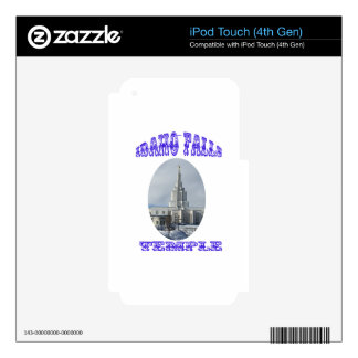 Church of Jesus Christ of Latter Day Saints Temple Skins For iPod Touch 4G