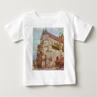 Church of Moret by Alfred Sisley Infant T-shirt