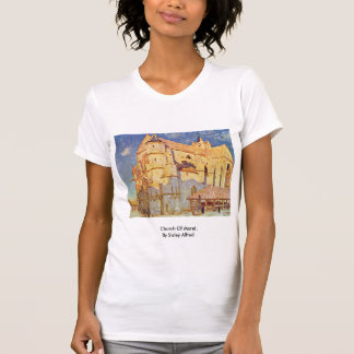 Church Of Moret, By Sisley Alfred T-shirt
