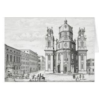 Church of Notre Dame, Salzburg, Austria, from 'Ent Card
