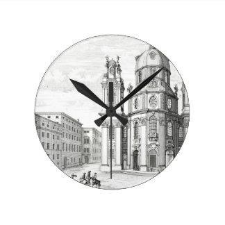 Church of Notre Dame, Salzburg, Austria, from 'Ent Round Clock
